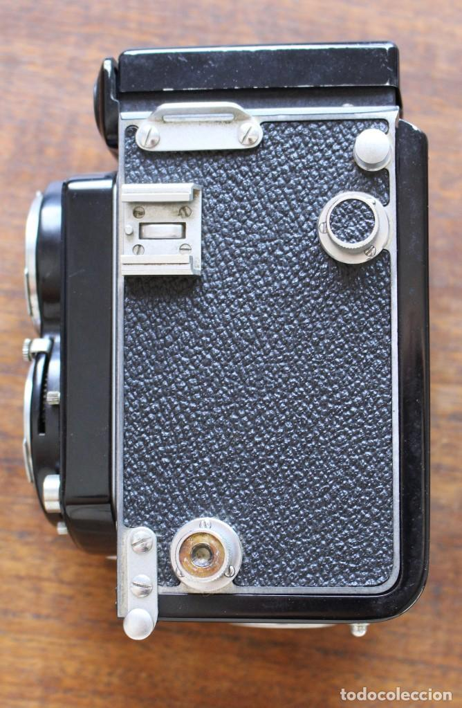 Cámara de fotos: Cámara réflex de lente Minolta autocord Doble Con Rokkor 75mm f/3.5 Lente de Japón - Foto 5 - 278181448