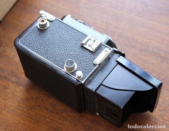 Cámara de fotos: Cámara réflex de lente Minolta autocord Doble Con Rokkor 75mm f/3.5 Lente de Japón - Foto 6 - 278181448
