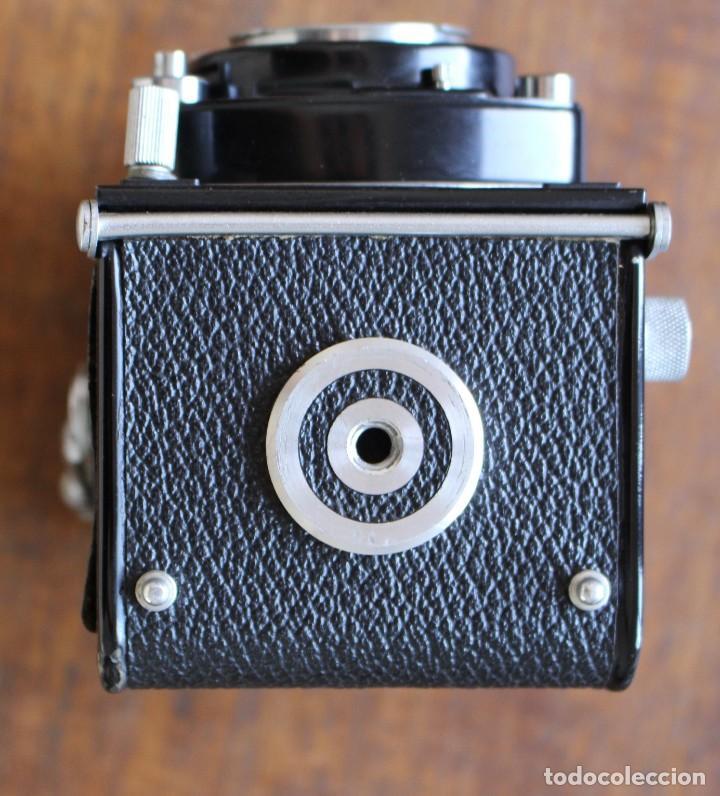 Cámara de fotos: Cámara réflex de lente Minolta autocord Doble Con Rokkor 75mm f/3.5 Lente de Japón - Foto 9 - 278181448