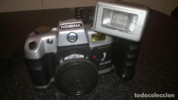 1-CAMARA DE FOTOS NOKINA 3030 (Cámaras Fotográficas - Réflex (autofoco))