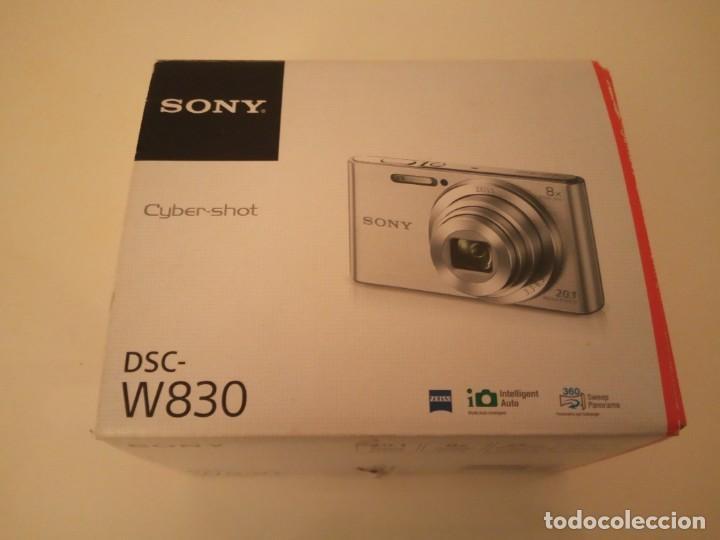 Cámara de fotos: Cámara de fotos SONY Cyber-Shot DSC-W830 nueva en caja - Foto 2 - 171465433