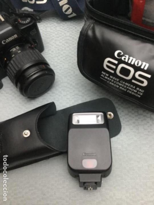 Cámara de fotos: CÁMARA DE FOTOS CANON EOS-1000, RÉFLEX, FLASH, MUY POCO USO - Foto 2 - 171495298