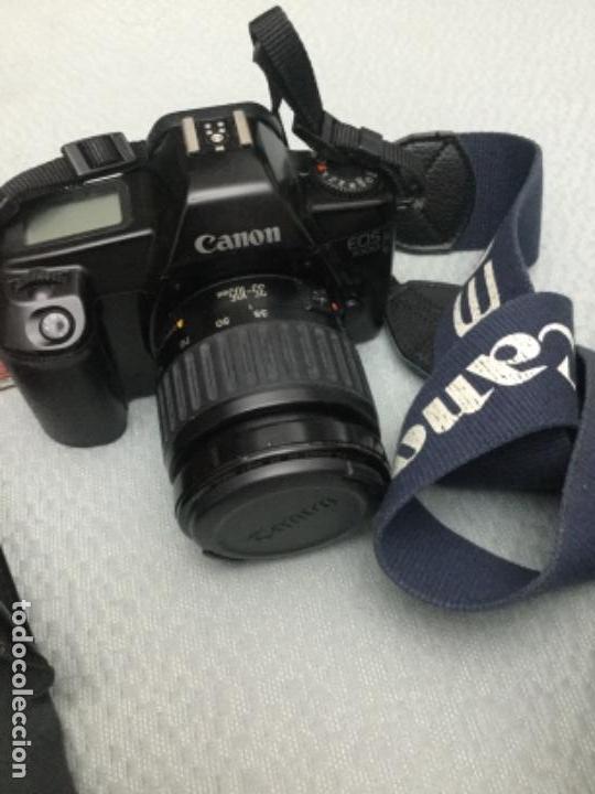 Cámara de fotos: CÁMARA DE FOTOS CANON EOS-1000, RÉFLEX, FLASH, MUY POCO USO - Foto 5 - 171495298