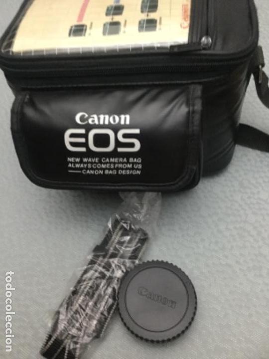 CÁMARA DE FOTOS CANON EOS-1000, RÉFLEX, FLASH, MUY POCO USO (Cámaras Fotográficas - Réflex (autofoco))