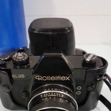 Cámara de fotos: CAMARA DE FOTOS ROLLEIFLEX SL35 CON FUNDA Y OBJETIVO. Lote 171821193