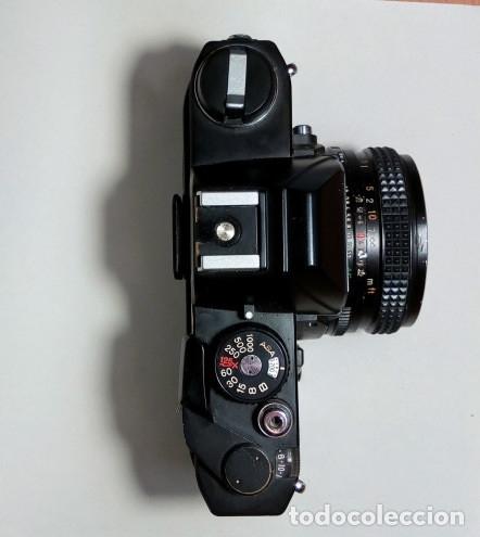 Cámara de fotos: CAMARA Konica Autoreflex TC, + objetivo KONICA HEXANON 1,4 50mm, ORG made in japan, EXC ESTADO - Foto 2 - 172250675