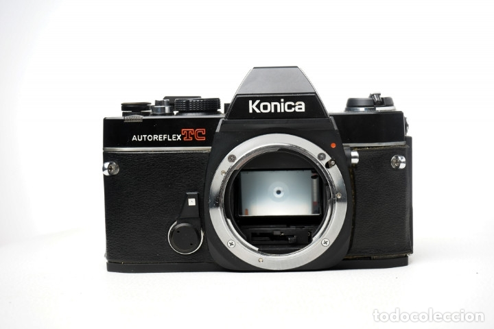 Cámara de fotos: CAMARA Konica Autoreflex TC, + objetivo KONICA HEXANON 1,4 50mm, ORG made in japan, EXC ESTADO - Foto 3 - 172250675