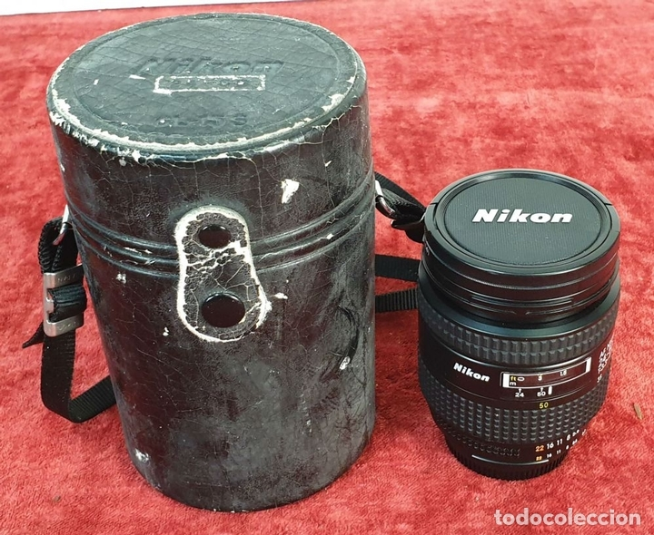 Cámara de fotos: EQUIPO FOTOGRÁFICO NIKON. CÁMARA F-401. OBJETIVOS Y ACCESORIOS. AÑOS 80. - Foto 14 - 172267604