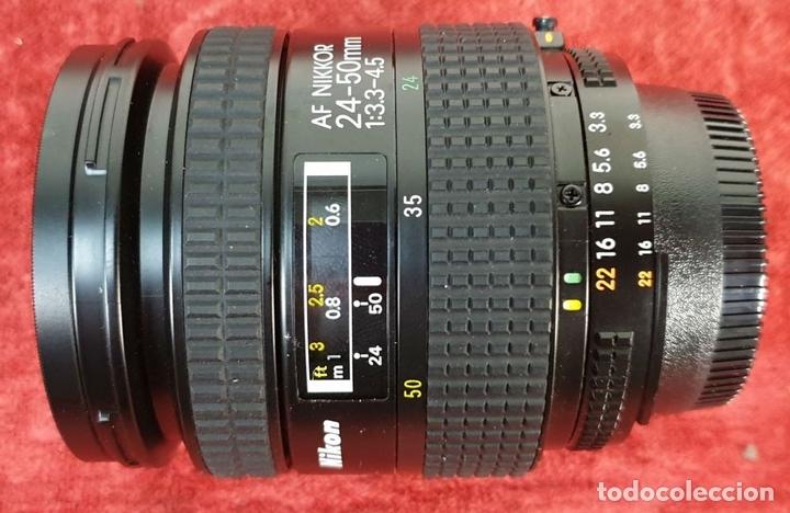 Cámara de fotos: EQUIPO FOTOGRÁFICO NIKON. CÁMARA F-401. OBJETIVOS Y ACCESORIOS. AÑOS 80. - Foto 15 - 172267604