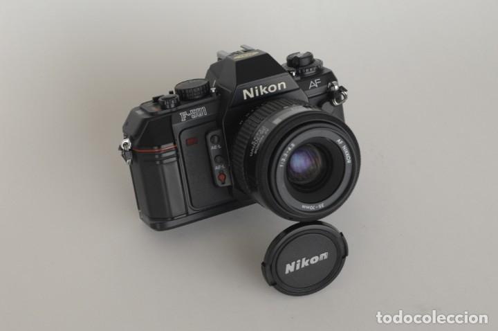 NIKON 501 CON OBJETIVO 35/70 (Cámaras Fotográficas - Réflex (autofoco))