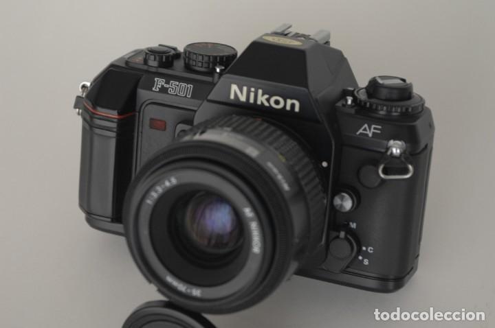 Cámara de fotos: Nikon 501 con objetivo 35/70 - Foto 4 - 172579399
