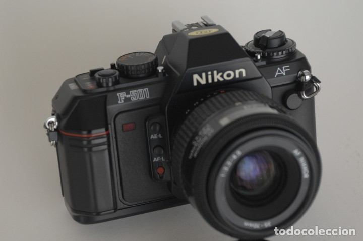 Cámara de fotos: Nikon 501 con objetivo 35/70 - Foto 5 - 172579399