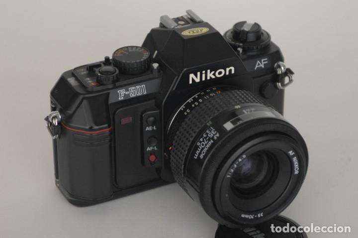 Cámara de fotos: Nikon 501 con objetivo 35/70 - Foto 6 - 172579399