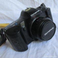 Cámara de fotos: CÁMARA FOTOGRÁFICA OLYMPUS OM 101 POWER FOCUS, FUNCIONANDO. Lote 172781119