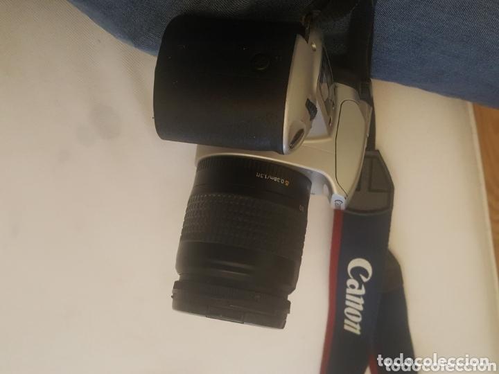 Cámara de fotos: CAMARA CANON EOS 500 REFLEX. OBJETIVO 28 - 80 Y FUNDA - Foto 4 - 173162210