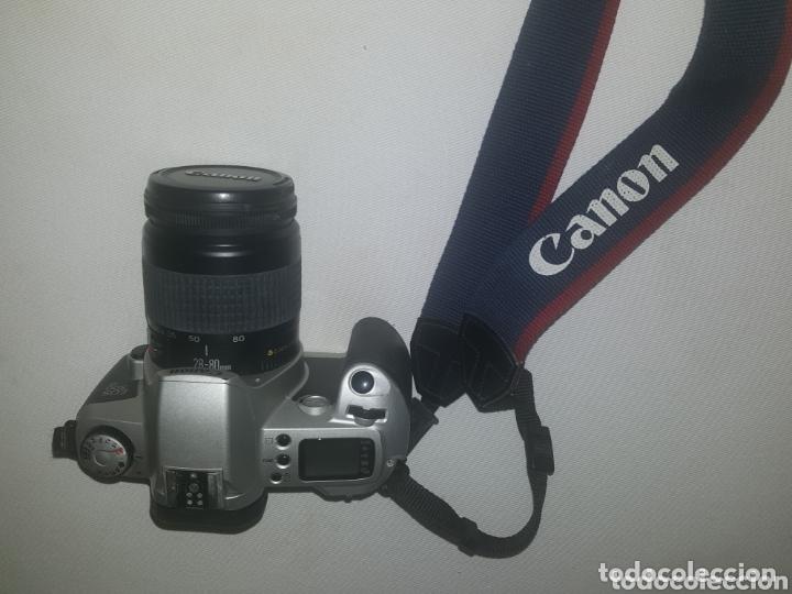 CAMARA CANON EOS 500 REFLEX. OBJETIVO 28 - 80 Y FUNDA (Cámaras Fotográficas - Réflex (autofoco))