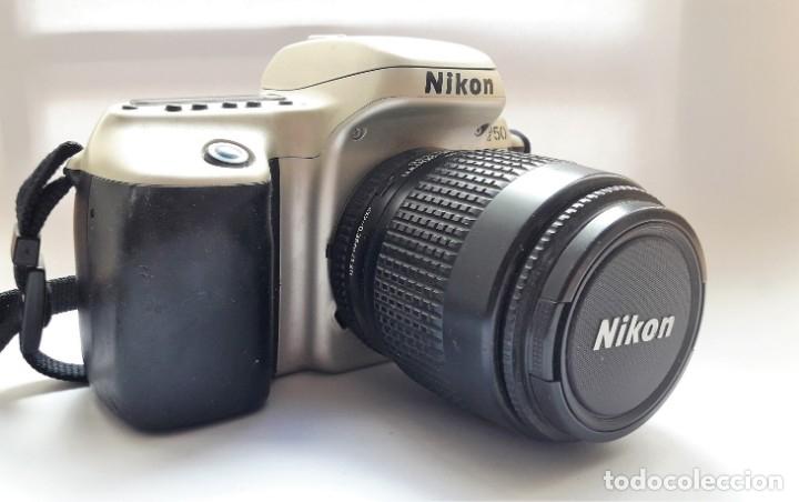 Cámara de fotos: CÁMARA NIKON F50 EN PERFECTO ESTADO CON OBJETIVO NIKKOR 35/80 MM Y BATERÍA RECARGABLE. - Foto 2 - 173562358