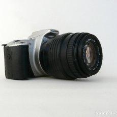 Cámara de fotos: CAMARA CANON EOS 300 + OBJETIVO TELE SIGMA EF 70-210 F4-5.6. Lote 174038763