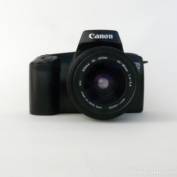 Cámara de fotos: CAMARA CANON EOS 1000FN + OBJETIVO SIGMA EF 35-80 F1:4-5.6 - Foto 2 - 174038878