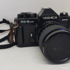 Cámara de fotos: CÁMARA DE FOTOS RÉFLEX YASHICA FX3 SUPER 2000 + FUNDA + OBJETIVO FOTOGRÁFICA - CAR157. Lote 174191280