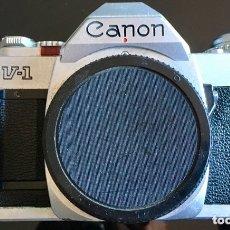 Cámara de fotos: CUERPO CANON AV-1. Lote 174207902