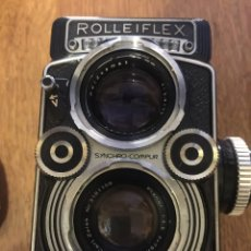 Cámara de fotos: ROLLEIFLEX 3.5 F TIPO 3 , FUNDA Y EMPUÑADURA ORIGINAL. Lote 174406414