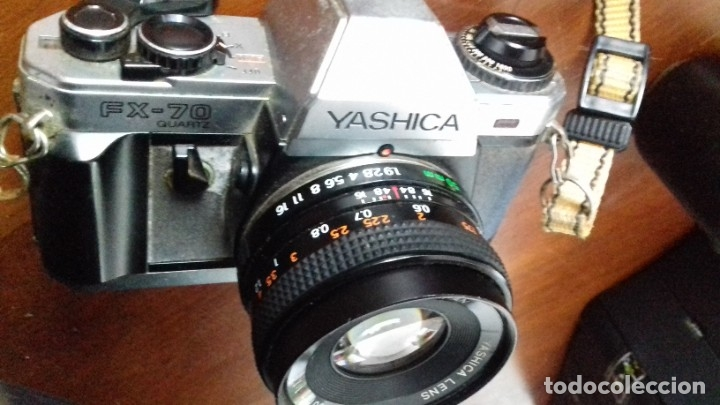 CÁMARA YASHIKA REFLEX (Cámaras Fotográficas - Réflex (autofoco))