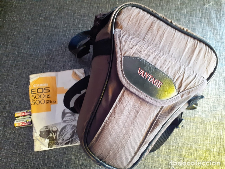Cámara de fotos: Canon EOS 500 N Analogica con objetivo 28/80mm - Foto 7 - 177256712