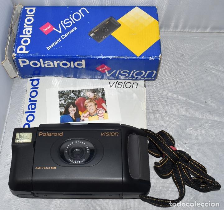 Cámara de fotos: INSTANTANEA REFLEX SLR..AUTOFOCUS..POLAROID VISION+CAJA Y MANUAL.USA 1993..MUY BUEN ESTADO..FUNCIONA - Foto 2 - 178894410
