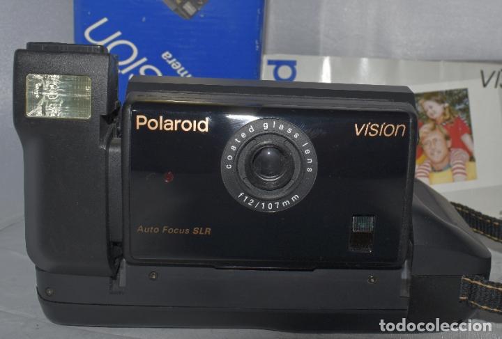Cámara de fotos: INSTANTANEA REFLEX SLR..AUTOFOCUS..POLAROID VISION+CAJA Y MANUAL.USA 1993..MUY BUEN ESTADO..FUNCIONA - Foto 3 - 178894410