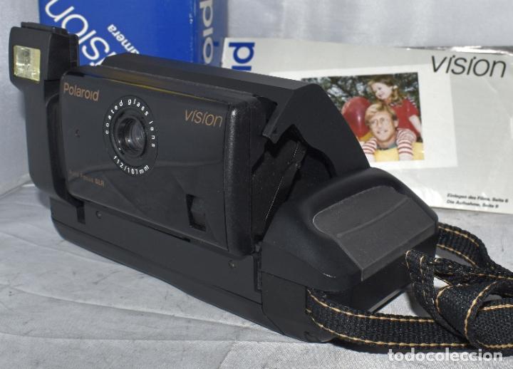 Cámara de fotos: INSTANTANEA REFLEX SLR..AUTOFOCUS..POLAROID VISION+CAJA Y MANUAL.USA 1993..MUY BUEN ESTADO..FUNCIONA - Foto 4 - 178894410