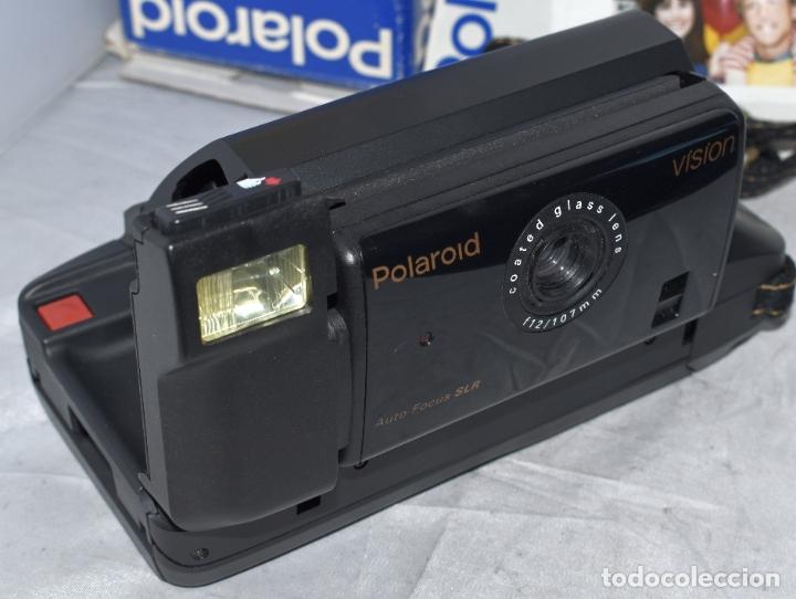 Cámara de fotos: INSTANTANEA REFLEX SLR..AUTOFOCUS..POLAROID VISION+CAJA Y MANUAL.USA 1993..MUY BUEN ESTADO..FUNCIONA - Foto 11 - 178894410