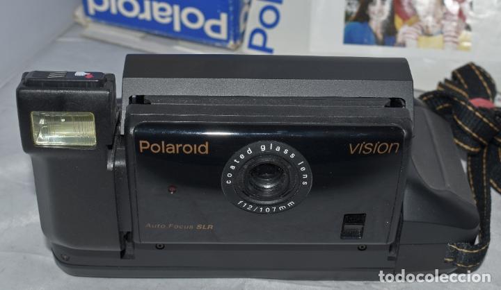 Cámara de fotos: INSTANTANEA REFLEX SLR..AUTOFOCUS..POLAROID VISION+CAJA Y MANUAL.USA 1993..MUY BUEN ESTADO..FUNCIONA - Foto 12 - 178894410