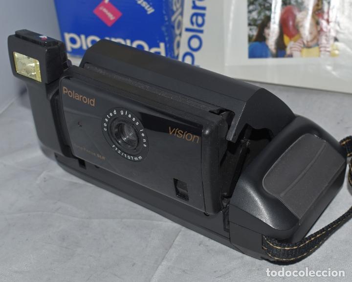 Cámara de fotos: INSTANTANEA REFLEX SLR..AUTOFOCUS..POLAROID VISION+CAJA Y MANUAL.USA 1993..MUY BUEN ESTADO..FUNCIONA - Foto 13 - 178894410