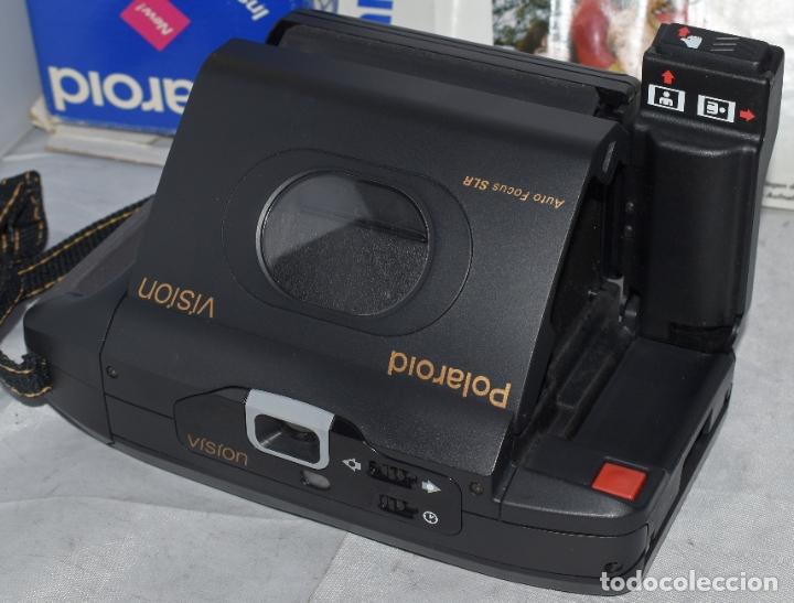 Cámara de fotos: INSTANTANEA REFLEX SLR..AUTOFOCUS..POLAROID VISION+CAJA Y MANUAL.USA 1993..MUY BUEN ESTADO..FUNCIONA - Foto 14 - 178894410