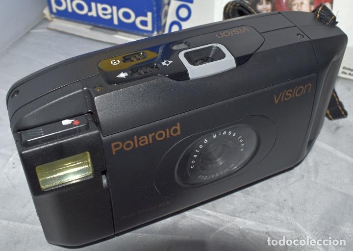 Cámara de fotos: INSTANTANEA REFLEX SLR..AUTOFOCUS..POLAROID VISION+CAJA Y MANUAL.USA 1993..MUY BUEN ESTADO..FUNCIONA - Foto 16 - 178894410