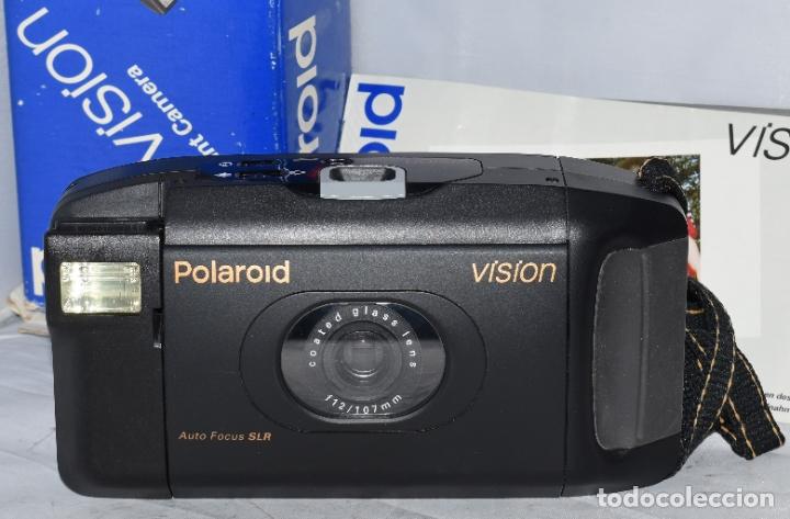 Cámara de fotos: INSTANTANEA REFLEX SLR..AUTOFOCUS..POLAROID VISION+CAJA Y MANUAL.USA 1993..MUY BUEN ESTADO..FUNCIONA - Foto 18 - 178894410