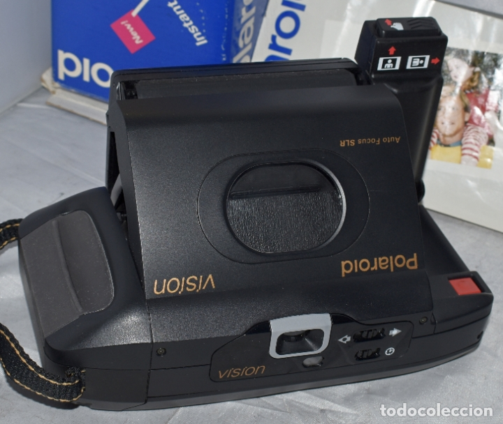 INSTANTANEA REFLEX SLR..AUTOFOCUS..POLAROID VISION+CAJA Y MANUAL.USA 1993..MUY BUEN ESTADO..FUNCIONA (Cámaras Fotográficas - Réflex (autofoco))
