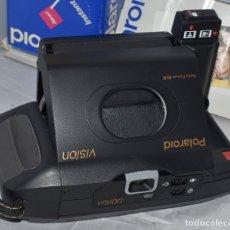 Cámara de fotos: INSTANTANEA REFLEX SLR..AUTOFOCUS..POLAROID VISION+CAJA Y MANUAL.USA 1993..MUY BUEN ESTADO..FUNCIONA. Lote 178894410