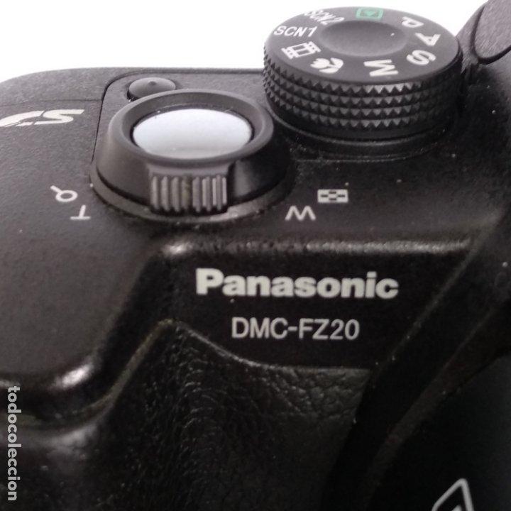 Cámara de fotos: lumix objetivo leica Panasonic dmc-fz20 funcionando 2 baterias+cargador y funda - Foto 3 - 216005973