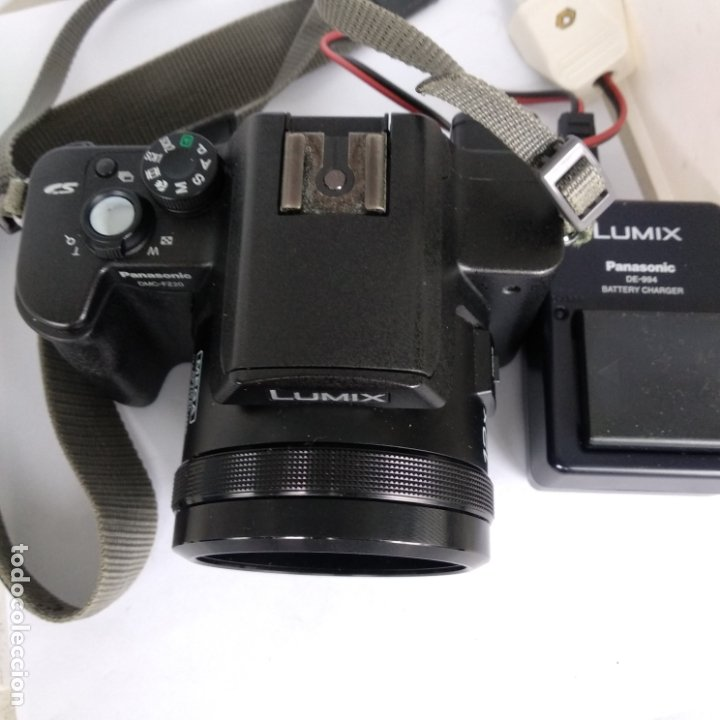 Cámara de fotos: lumix objetivo leica Panasonic dmc-fz20 funcionando 2 baterias+cargador y funda - Foto 4 - 216005973