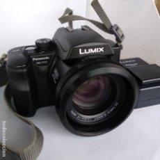 Cámara de fotos: LUMIX OBJETIVO LEICA PANASONIC DMC-FZ20 FUNCIONANDO 2 BATERIAS+CARGADOR Y FUNDA. Lote 216005973