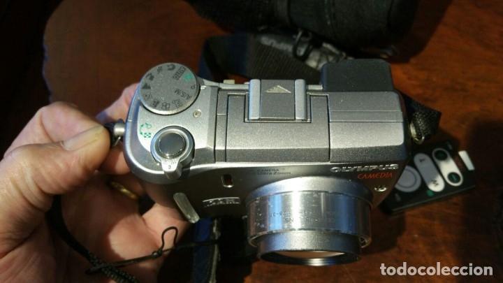 Cámara de fotos: OLYMPUS CAMEDIA C-750 DIGITAL ULTRA ZOOM, CON MANDO, CABLE Y FUNDA - Foto 3 - 179309828