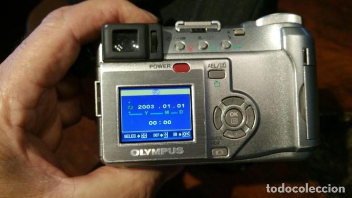 Cámara de fotos: OLYMPUS CAMEDIA C-750 DIGITAL ULTRA ZOOM, CON MANDO, CABLE Y FUNDA - Foto 6 - 179309828