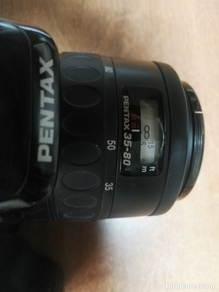 Cámara de fotos: LOTE CAMARA PENTAX Z-10 MAS OBJETIVO PENTAX-F 1:4-5,6 35-80MM. - Foto 4 - 179538656