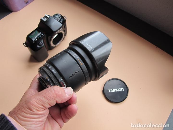 Cámara de fotos: NIKON F70 + TAMRON 28-200 MM./3,8-5,6 AF IF LD ASPHERICAL + PARASOL ESPECÍFICO (ANALÓGICAS- DIGITAL) - Foto 9 - 75945367