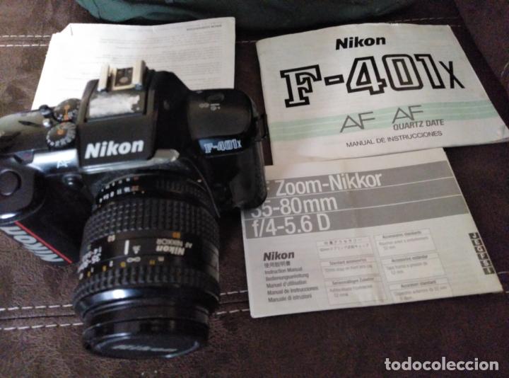 Cámara de fotos: EQUIPO FOTOGRÁFICO NIKON. CÁMARA F-401. OBJETIVOS Y ACCESORIOS - Foto 8 - 180232021
