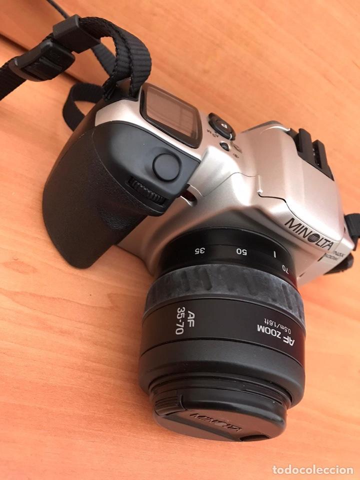 Cámara de fotos: camara reflex MINOLTA DYNAX 500SI SUPER OBJETIVO 35/70 BUEN ESTADO - Foto 2 - 181618046