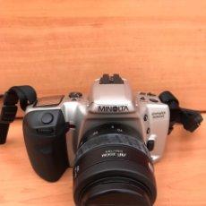 Cámara de fotos: CAMARA REFLEX MINOLTA DYNAX 500SI SUPER OBJETIVO 35/70 BUEN ESTADO. Lote 181618046