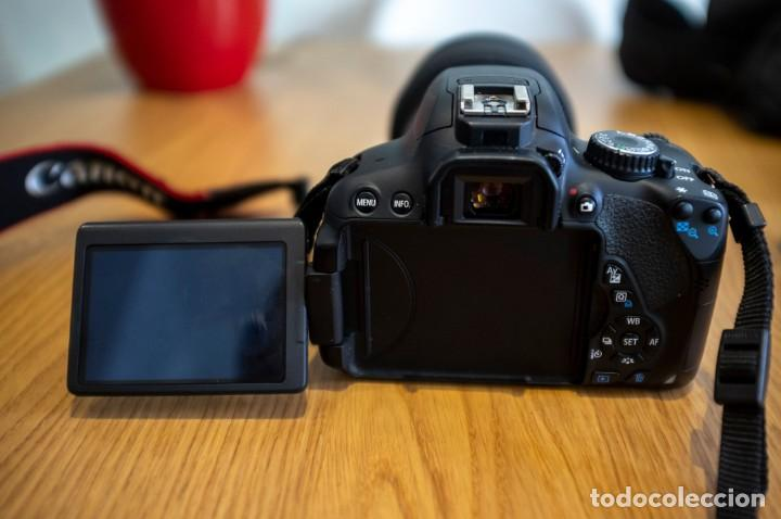Cámara de fotos: Canon 650d con objetivos Sigma y Canon y complementos. Ver descripcion - Foto 3 - 185782457